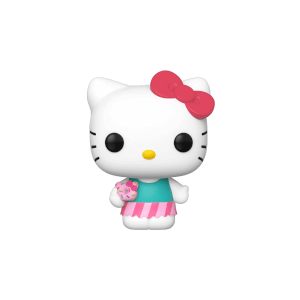 Sanrio - Hello Kitty mit Süßigkeit Pop! Vinyl Figur