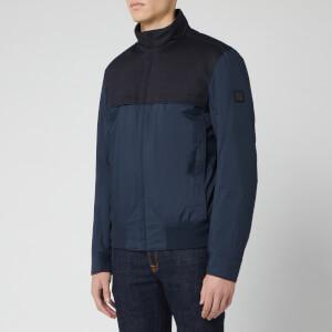 BOSS Men's Jadon Dual Colour Jacket - Navy/Black