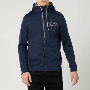 BOSS Men's Saggy Zip Hood Jacket - Navy