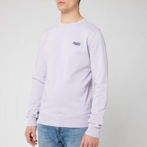 Superdry Men's Orange Label Crew Sweatshirt - Pastel Lilac