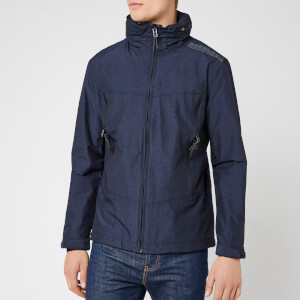 Superdry Men's Altitude SD-Wind Hiker Jacket - Dark Navy Marl/Black