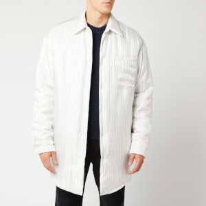 Maison Margiela Men's Padded Overshirt - Classic Pyjama Stripes