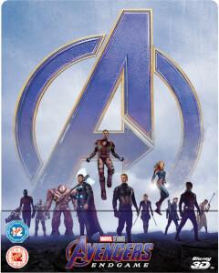 Avengers: Endgame - Steelbook 3D Exclusif Zavvi (Blu-ray 2D inclus)