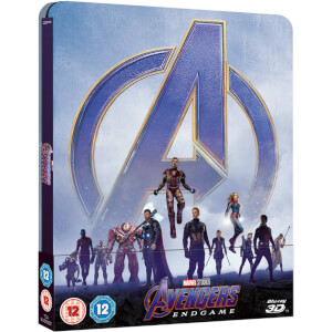 Avengers: Endgame - Zavvi UK Exclusive 3D Steelbook (Includes 2D Blu-ray)