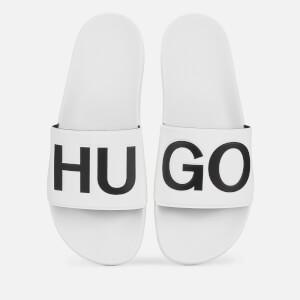 HUGO Men's Timeout Slide Sandals - White