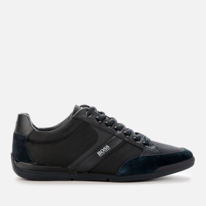 BOSS Men's Saturn Low Profile Trainers - Navy