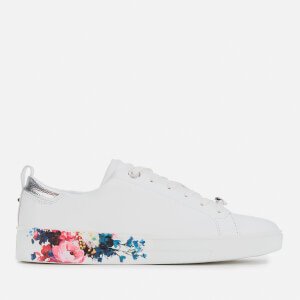Ted Baker Women's Roully Leather Low Top Trainers - White