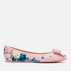 Ted Baker Women's Immep Floral Ballet Flats - Light Pink