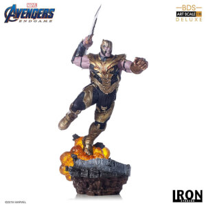 Iron Studios Avengers Endgame BDS Art Scale Statue 1/10 Thanos Deluxe Version 36 cm