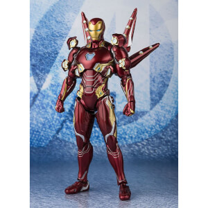 Tamashii Nations Avengers: Endgame S.H. Figuarts Action Figure Iron Man MK50 Nano Weapon Set 2 16 cm