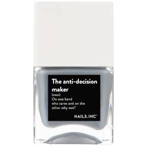 nails inc. Life Hack the Anti-Decision Maker Nail Varnish 14ml