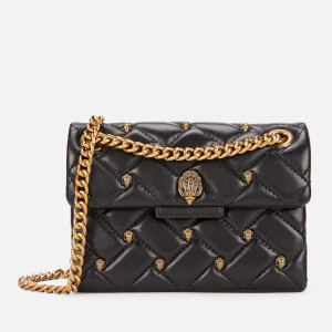 Kurt Geiger Women's Leather Mini Kensington Bag - Black