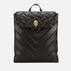 Kurt Geiger Women's Leather Kensington Backpack - Black