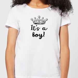 It's A Boy Women's T-Shirt - White