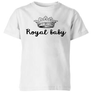 Royal Baby Kids' T-Shirt - White