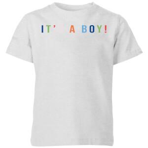 It's A Boy Kids' T-Shirt - Grey