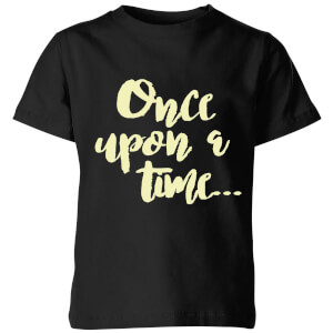 Once Upon A Time Kids' T-Shirt - Black