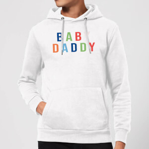 Baby Daddy Hoodie - White