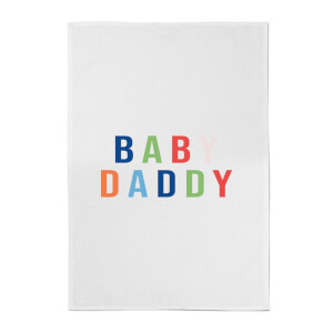 Baby Daddy Cotton Tea Towel