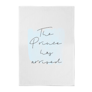 The Prince Has Arrived Cotton Tea Towel