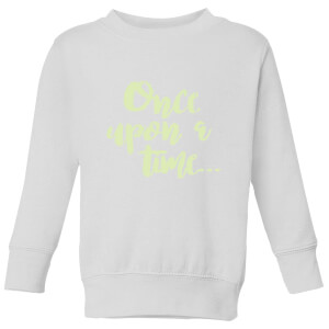 Once Upon A Time Kids' Sweatshirt - White