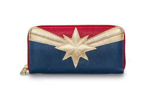 Loungefly Marvel Captain Marvel Wallet