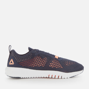 Reebok Women's Flexagon Trainers - Navy/Sunglow/White
