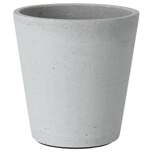 Blomus Coluna Flower Pot - Grey 14.5cm x 14cm