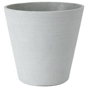 Blomus Coluna Flower Pot - Grey 24cm x 26cm
