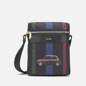 PS Paul Smith Men's Mini Car Flight Bag - Black