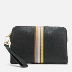 PS Paul Smith Men's Multistripe Clutch Bag - Black