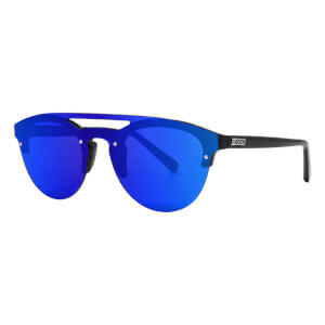 Scicon Cover Sunglasses Blue Multimirror Lens - Black Gloss Frame