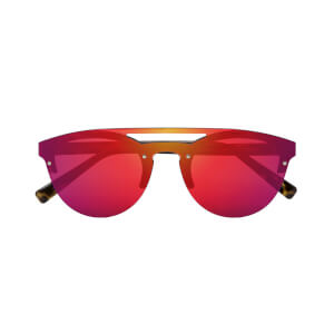 Scicon Cover Sunglasses Red Multimirror Lens - Demi Gloss Frame
