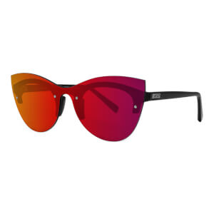 Scicon Phantom Sunglasses Red Multimirror Lens - Black Gloss Frame