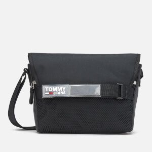 Tommy Jeans Men's Urban Messenger Bag - Black
