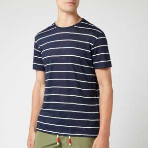 Orlebar Brown Men's Sammy Sunset Stripe T-Shirt - Navy/Cloud