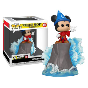 Figurine Pop! Movie Moment Mickey Sorcier EXC - Disney Fantasia