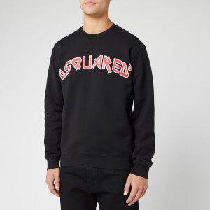Dsquared2 Men's Cool Fit Fade Dyed Sweatshirt - Black
