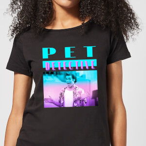 Ace Ventura Neon Women's T-Shirt - Black