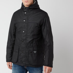 Barbour Beacon Men's Durham Wax Jacket - Black