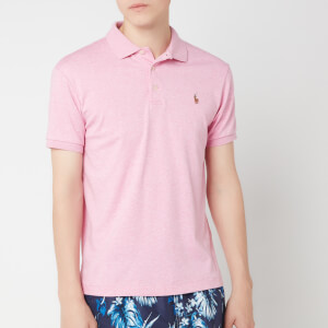 Polo Ralph Lauren Men's Pima Soft Touch Polo Shirt - Hampton Pink Heather