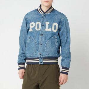 Polo Ralph Lauren Men's Varsity Denim Jacket - Tillman