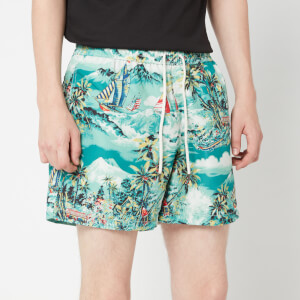 Polo Ralph Lauren Men's Traveller Swim Shorts - Stormy Tropical