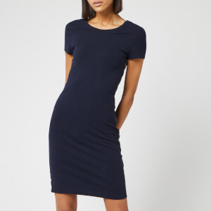 Armani Exchange Women's Logo Tape Dress - Navy