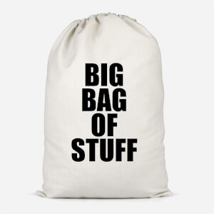 Big Bag Of Stuff Cotton Storage Bag