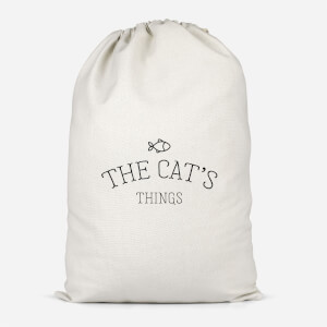 The Cat's Things Cotton Storage Bag