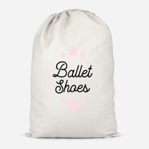 Ballet Shoes Cotton Storage Bag