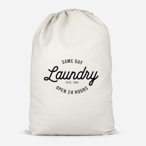 Same Day Laundry Cotton Storage Bag