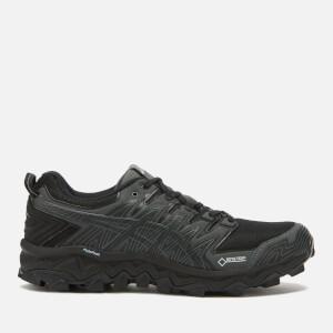 Asics Men's Trail Running Gel-Fujitrabuco 7 G-Tx Trainers - Black/Dark Grey