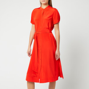 Diane von Furstenberg Women's Addilyn Shirt Dress - Red